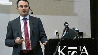 İsveç Farklı Renkler Partisi lideri Türk kökenli siyasetçi Mikail Yüksel