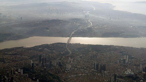 İstanbul havadan görünümü