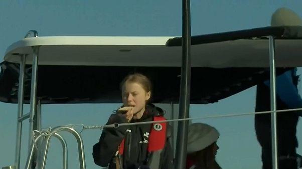 Cop25, arriva Greta Thunberg dopo la traversata atlantica
