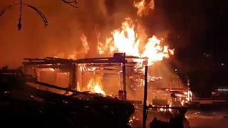 Ausztria: tűz pusztított a festői Hallstattban