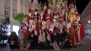 Germany's biggest gathering of Santa Clauses