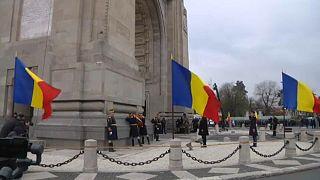 Katonai parádé Bukarestben