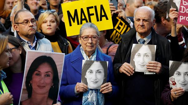 Meurtre d'une journaliste à Malte : les manifestants dans la rue
