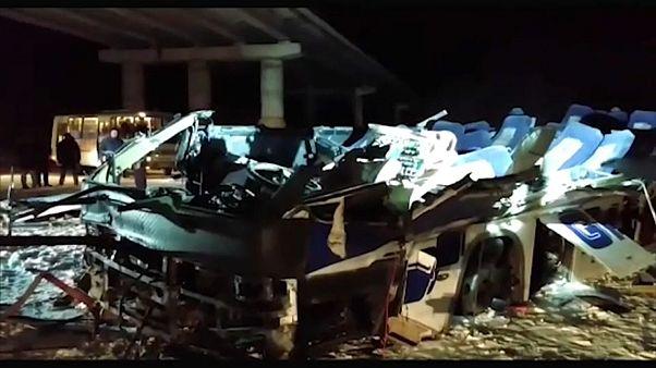 Al menos 19 muertos en un accidente de autobús en el extremo oriente de Rusia