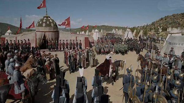 Ateş Krallıkları dizisinden bir sahne