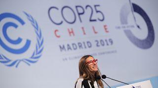 Ministra chilena do Ambiente preside à COP 25, em Madrid