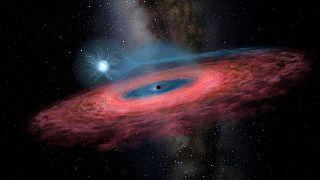 Ανακάλυψαν μια απρόσμενα μεγάλη μαύρη τρύπα στον γαλαξία μας
