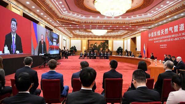 Ρωσία- Κίνα: Εγκαίνια του αγωγού φυσικού αερίου «Power of Siberia»
