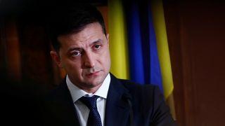 الرئيس الأوكراني فولوديمير زيلنسكي