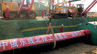 Rusya-Çin doğal gaz boru hattı projesi