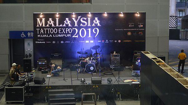 صورة من معرض الوشوم في ماليزيا-الصفحة الرسمية على الفيسبوك