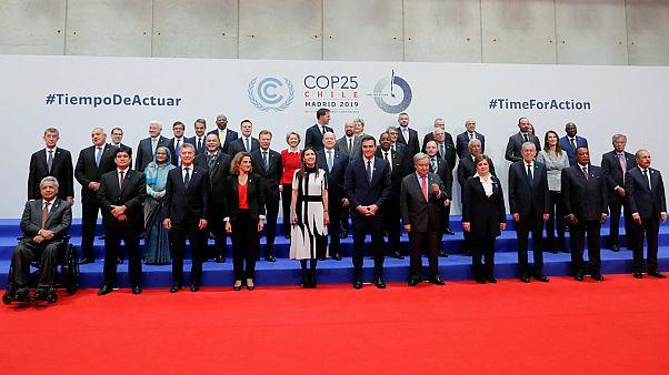 زعماء وقادة دول يشاركون في مؤتمر  المناخ بالعاصمة الإسبانية مدريد