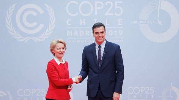"""Pedro Sánchez afirma en la COP 25 que """"solo un puñado de fanáticos"""" niega el cambio climático"""