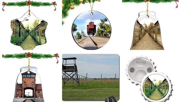 Amazon торговал елочными игрушками с изображениями Освенцима