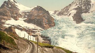 En imágenes | el dramático 'antes y después' de los glaciares suizos