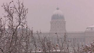 Будапешт в снежном убранстве