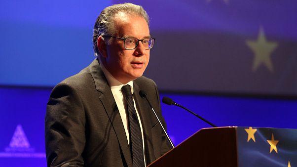 Ο αναπληρωτής υπουργός Προστασίας του Πολίτη, αρμόδιος για την Μεταναστευτική Πολιτική Γιώργος Κουμουτσάκος