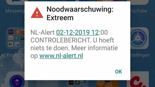 #NLAlert: Why did 12 million people in the Netherlands receive an emergency message?