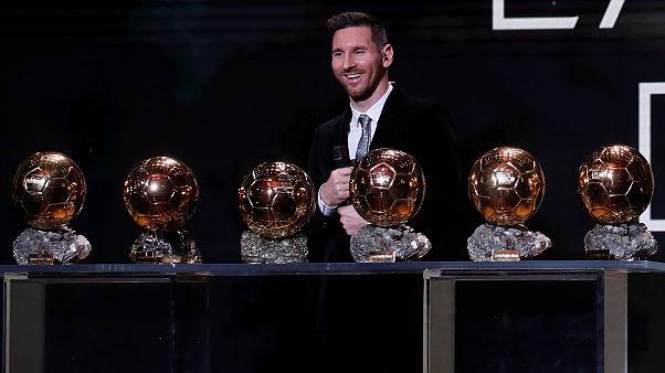 Lionel Messi hatodszor kapta meg az Aranylabdát