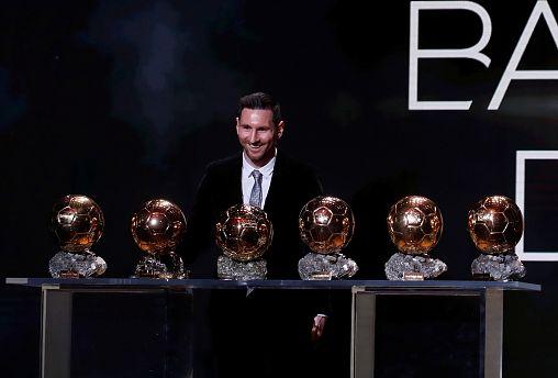 El jugador del Barcelona hace historia al conseguir su sexto Balón de Oro