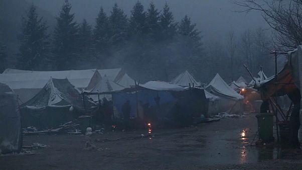 """Wildes Lager: """"Uns Migranten wird das zugemutet"""""""