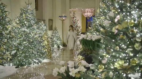 Nach dem Spott - Melanias Weihnachtsdeko 2019: The Spirit of America