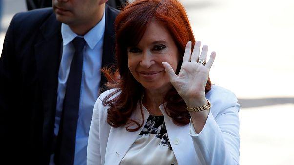 Cristina Fernández, en el banquillo a pocos días de jurar como vicepresidenta de Argentina