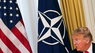 Watch again: NATO chief says he is working on solving dispute with Turkey