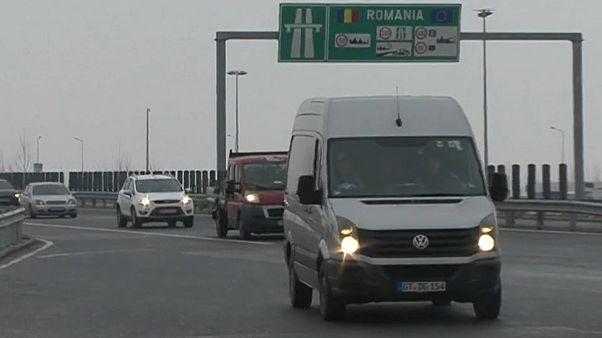 Провальные автотрассы Румынии