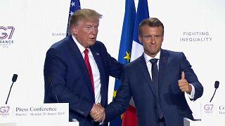 Trump amenaza con más aranceles a Francia por el impuesto a los gigantes digitales
