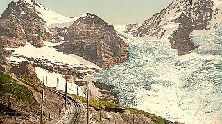 صور لجبال جليدية التقطت في سويسرا بين عامي 2890 و1900