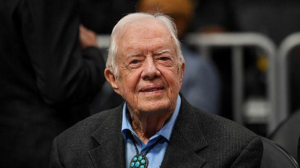 إدخال الرئيس الأمريكي الأسبق جيمي كارتر إلى المستشفى مجددا