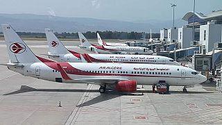 صورة لعدد من الطائرات التابعة للخطوط الجوية الجزائرية- الصفحة الرسمية للخطوط الجوية الجزائرية