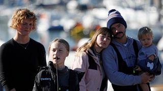Land ahoy! Greta Thunberg arrives in Lisbon after Atlantic crossing