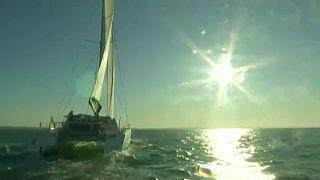 Befutott Greta Thunberg hajója