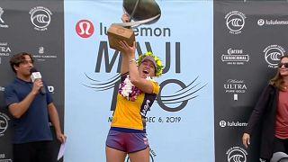 Мур в четвёртый раз признана лучшей сёрфингисткой планеты