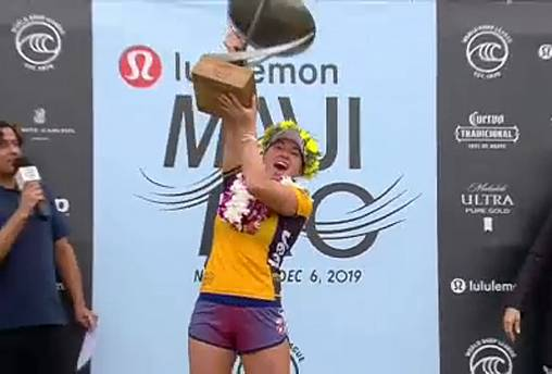 Carissa Moore logra su cuarto título mundial de surf femenino