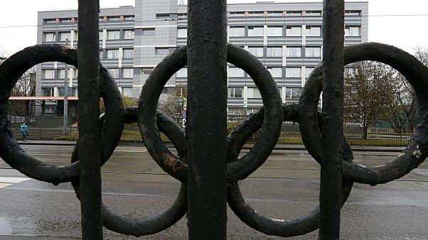 """مبنى لمختبر معتمد من """"وادا"""" في موسكو- أرشيف رويترز"""