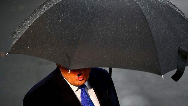 دونالد ترامپ در لندن برای شرکت در نشست ناتو