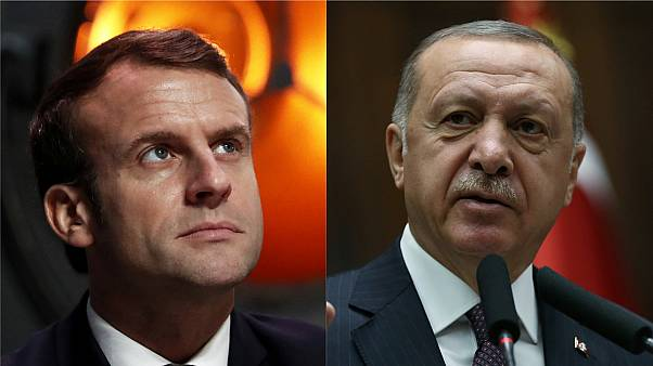 Emmanuel Macron and Tayyip Erdogan have clashed over Macron's NATO comments