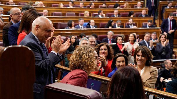 اُولى جلسات البرلمان الإسباني في العاصمة مدريد. 3/12/2019