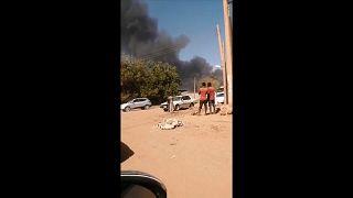 السودان: عشرات القتلى والجرحى في انفجار ناقلة غاز بالخرطوم