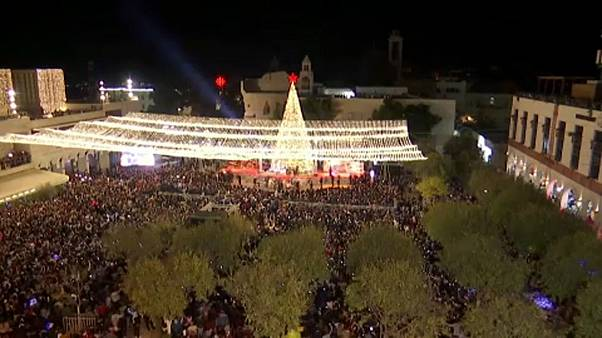 Karácsonyi készülődés Betlehemben