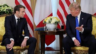 Macron and Trump were visibly angry with each other during the bizarre news conference.