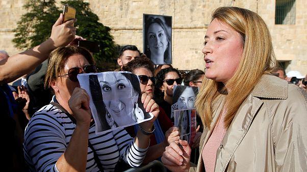 AB'den Galizia cinayeti hakkında Malta'ya uyarı: 'Başbakan görevinden acilen ayrılmalı'