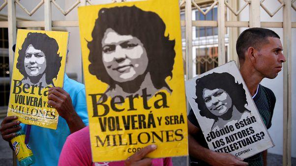 Sete homens condenados pela morte da ativista ambiental Berta Cáceres