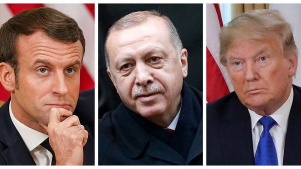 Macron: 'Ulusal güvenlik adına Türkiye'nin IŞİD savaşçılarıyla ilgili belirsizliği çözülmeli'