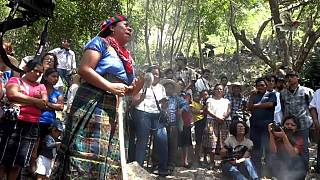 Die indigene Bevölkerung Honduras sah in Caceres eine ihrer Vorkämpfer
