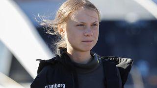 Greta Thunberg, la adolescente de gesto enfadado