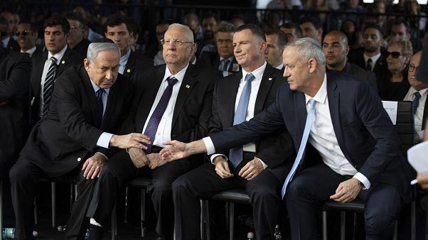 Netanyahu ile Gantz koalisyon konusunda yine anlaşamadı